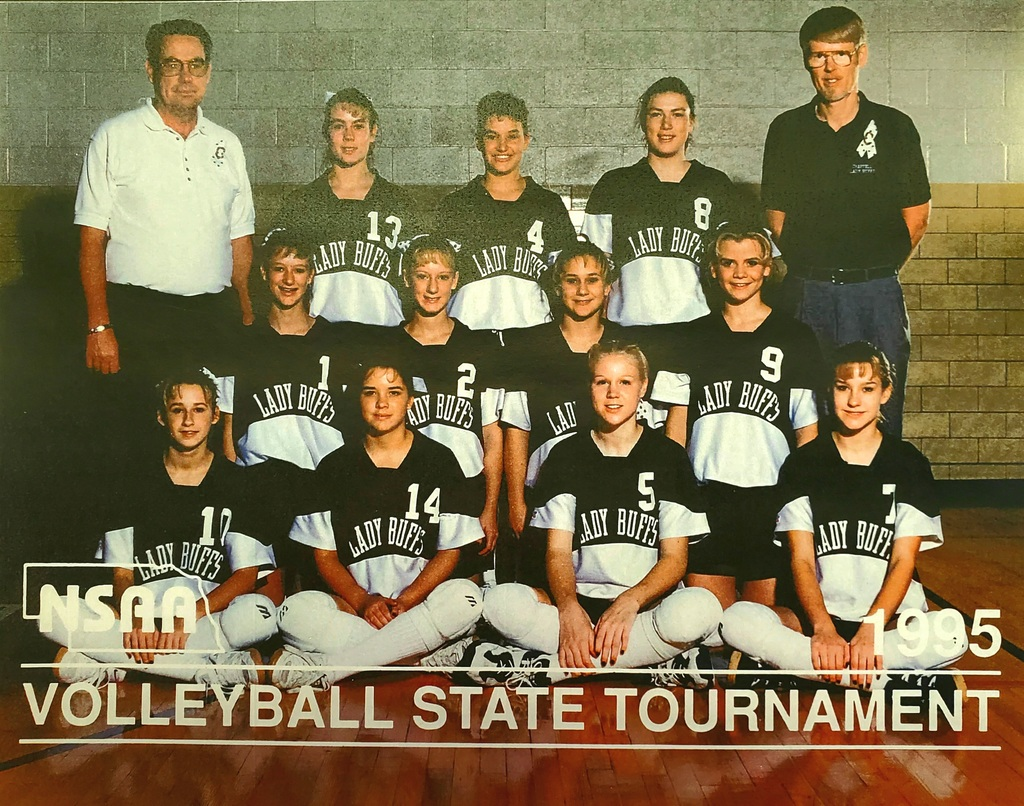 1995 volleyball state champs